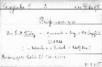 Briefe (1848-1910)