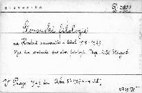 Slovanská filologie na Karlově universitě v