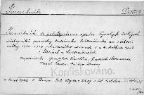 Památník k jubilejnímu sjezdu bývalých českýc