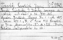 Paměti Františka J. Vaváka, souseda a rychtáře milčického z let 1770-1816                         (Kniha 5,)