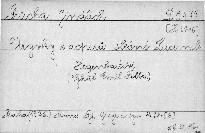 Úryvky z dopisů slečně Ludmile Hegenbartové.