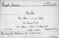 Goethe                         (Erster Band)