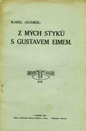Z mých styků s Gustavem Eimem