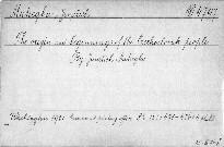 The origin and beginnings of the Czechoslovak