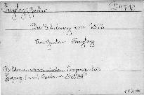 Die Erhebung von 1813.