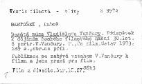 Desátá múza Vladislava Vančury