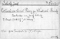 Collection Ernst Prinz zu Windisch-Grätz