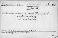 Die Sudetendeutschen nach Beruf und sozialer