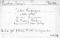 Jules Laforgue 1860-1887