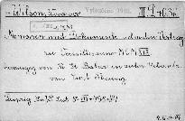 Memoiren und Dokumente über den Vertrag
