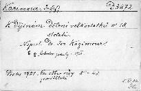 K dějinám dělení velkostatků v 18. století