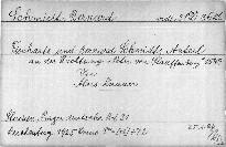 Fischarts und Bernhard Schmidts des Anteil
