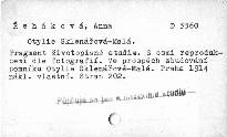Otylie Sklenářová-Malá