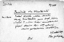 Památník obce Křivoklátské k oslavě 25-letého jubilea obecního starosty křivoklátského pana Josefa Nitsche a k oslavě 25. ročnice trvání samostatného zřízení obecního 1864 - 1889