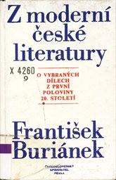 Z moderní české literatury.