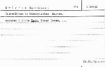 Gaststätten in historischen Bauten.
