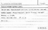 Československé správní právo