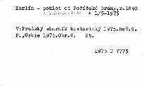 Pražský sborník historický                         ([Roč.] 9)