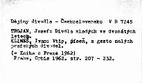 Kniha o Praze 1962