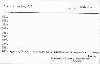 Histoire de l'Algérie contemporaine.