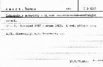 Dokumenty a materiály k dějinám československ