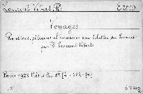 Voyages. Routiers, Pélerins et Corsaires