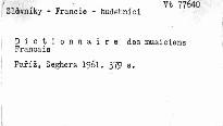 Dictionnaire des musiciens francais