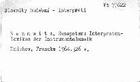 Interpretenlexikon der Instrumentalmusik