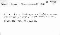 Shakespeare v hudbě a na našem jevišti