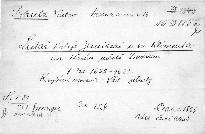 Listář kolleje Jesuitské u sv. Klimenta na Starém městě pražském