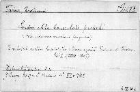 Soudní akta konsistoře Pražské                         (Č. 2,)