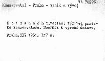 150 let pražské konzervatoře