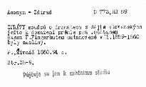 Zprávy soudců o dramatech z dějin slovanských