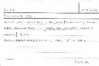 Živá hudba VIII,1983.Sborník prací hudební fa; Živá hudba 8, 1983