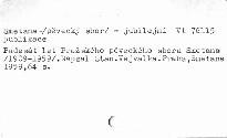 50 let pražského pěveckého sboru Smetana 1909