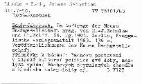 Bach-Jahrbuch.69. Jahrgang 1983