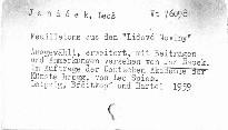 "Feuilletons aus den ""Lidové noviny"""