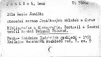 Dílo Leoše Janáčka