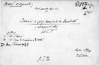 Jednání a dopisy konsistoře katolické i
