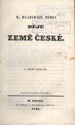 W. Wladiwoje Tomka Děje země české