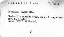 Odsouzení Paganiniho