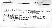 Ein Orchestermusiker über das Dirigieren