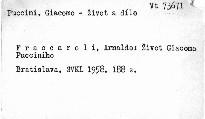 Život Giacoma Pucciniho