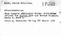 J. S. Bach: Adventskantaten