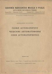 České automatofony