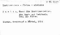 Die Instrumentation. Teil 2: Flöte