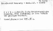 Bachs Brandenburgische Konzerte