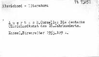 Die deutsche Clavichordkunst des 18. Jahrhundert