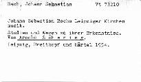 Johann Sebastian Bachs Leipziger Kirchenmusik