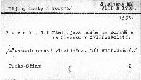 Československá vlastivěda                         (Díl 8)